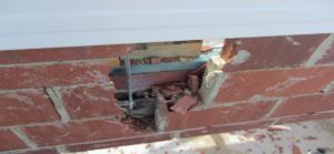 Construction Inspections Non-Compliant Brickwork